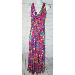 Lilly Pulitzer Parrish Halter Maxi dress pink S
